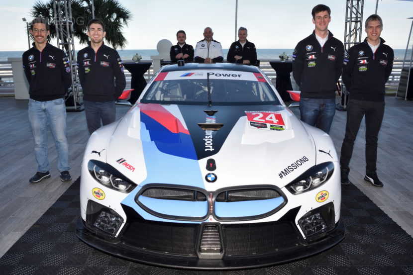 BMW M8 GTE unveil 02 830x553