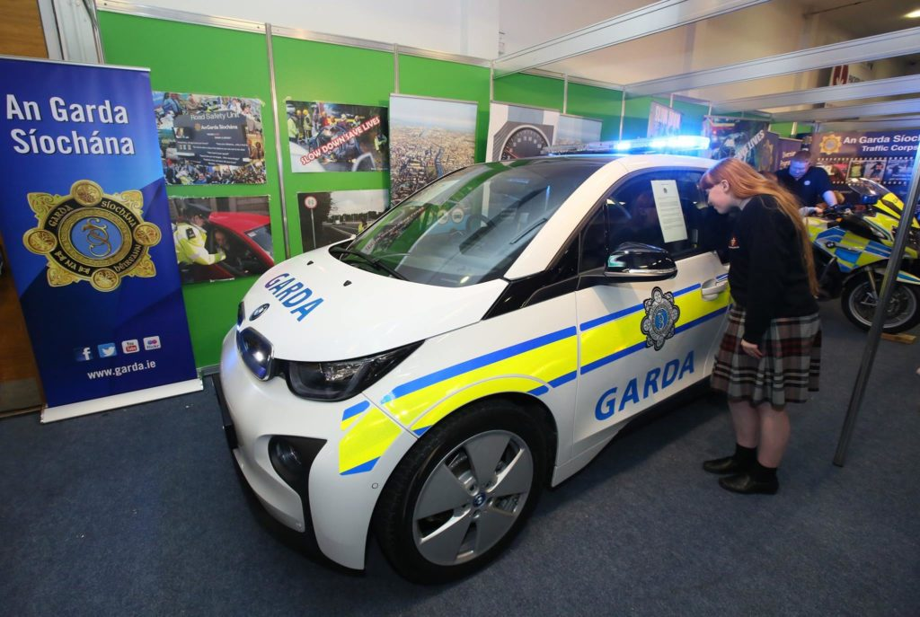 Irish Police Service Gets A Bmw I3
