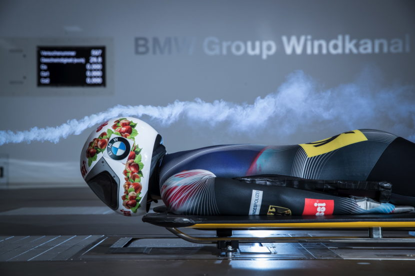 BMW wind tunnel helps athletes 02 830x553