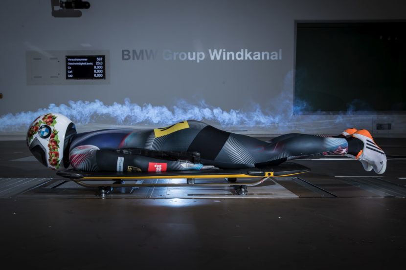BMW wind tunnel helps athletes 05 830x553