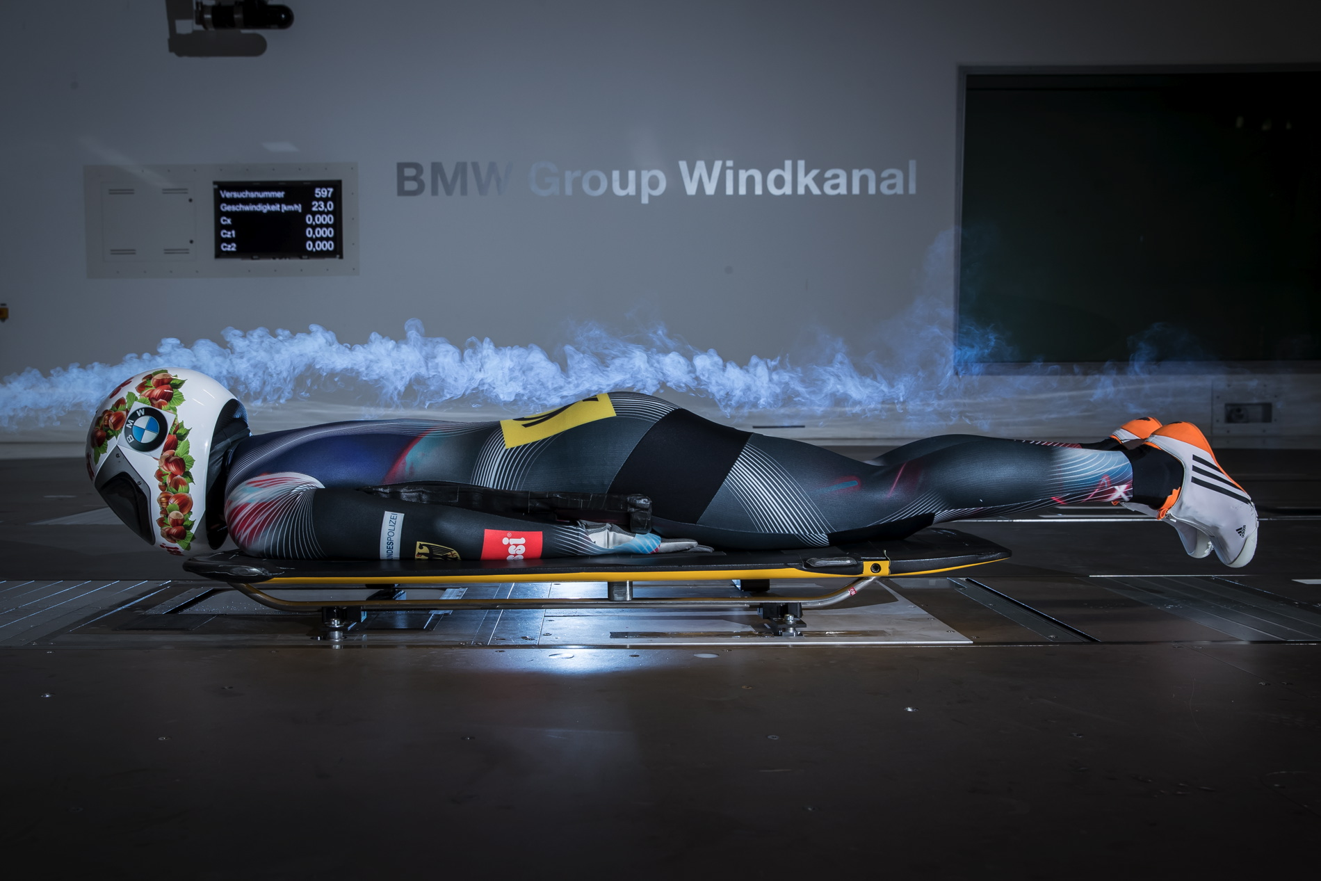 BMW wind tunnel helps athletes 05