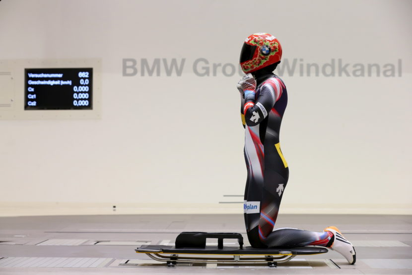 BMW wind tunnel helps athletes 09 830x553