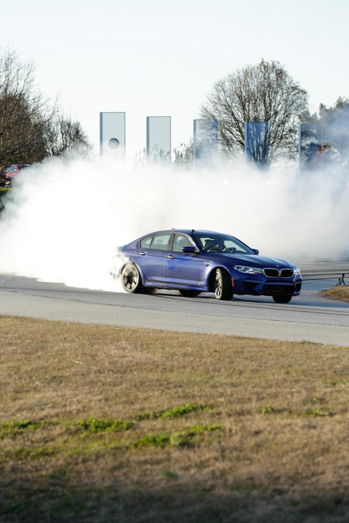 F90 BMW M5 Drift World Record 24