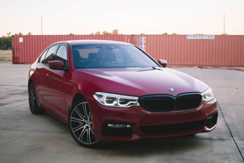 Imola Red BMW 5 Series 02 830x553