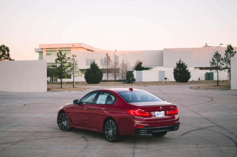 Imola Red BMW 5 Series 06 830x553