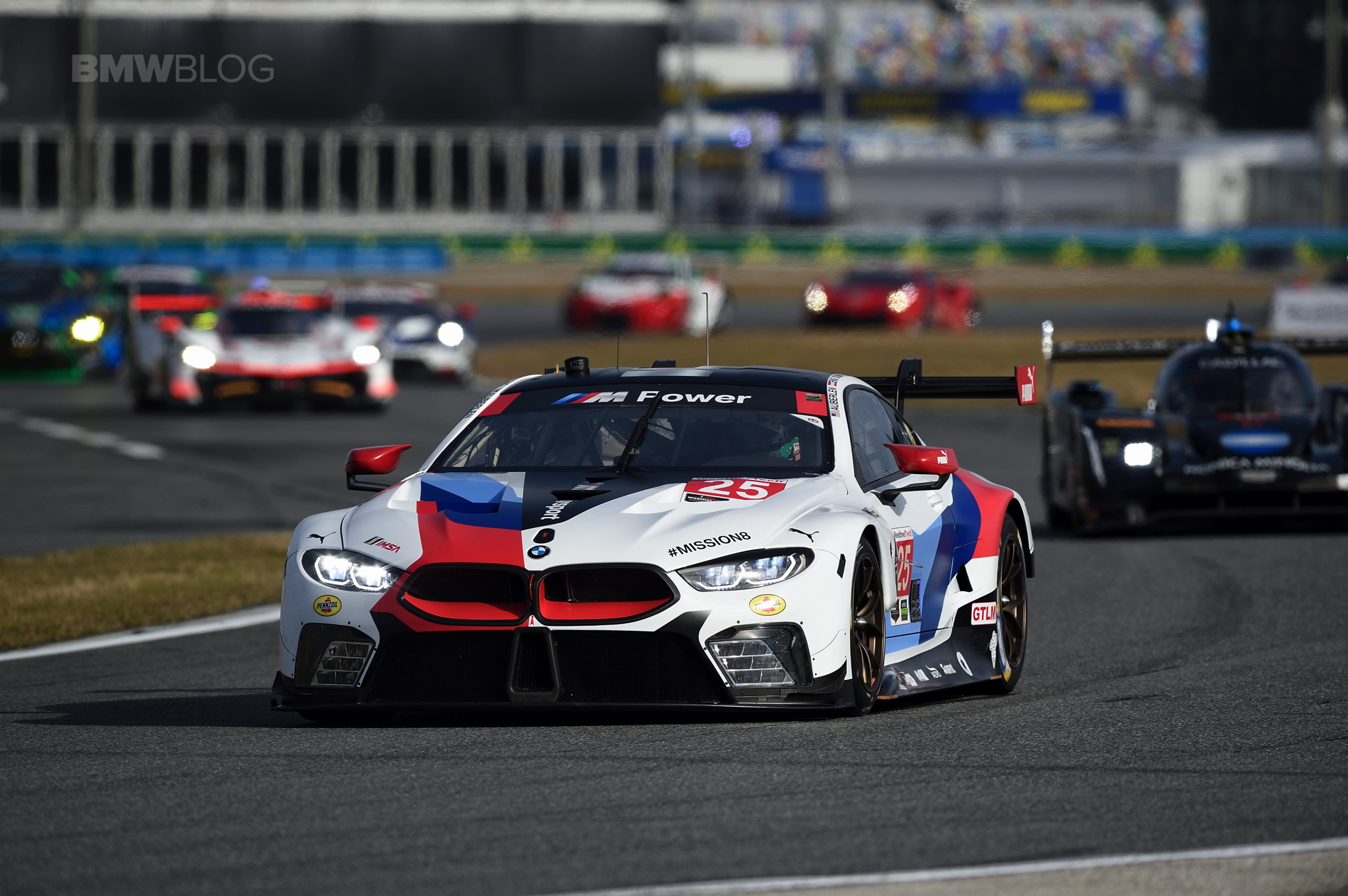 Bmw M8 Gte Photo Gallery From Rolex 24