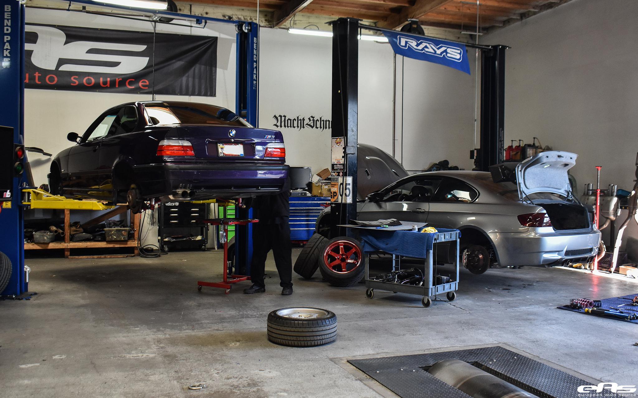 Techno Violet Metallic BMW E36 M3 Build By European Auto Source Image 1
