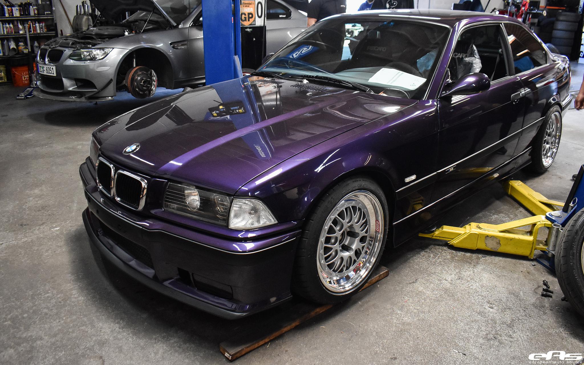 Techno Violet Metallic Bmw E36 M3 Build By European Auto