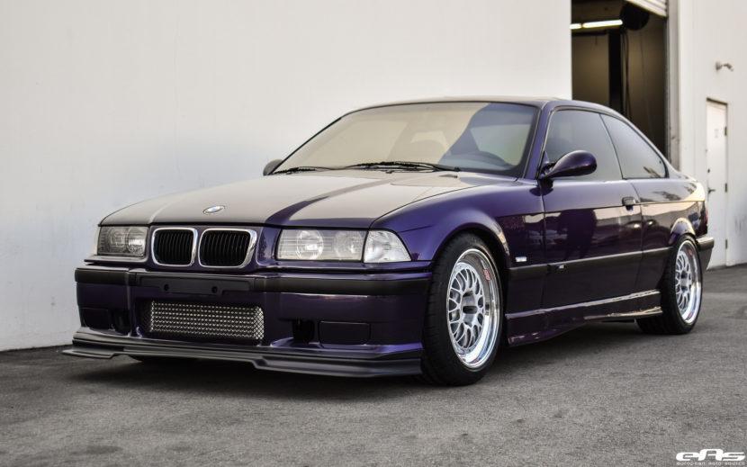 Techno Violet Metallic BMW E36 M3 Build By European Auto Source Image 18 830x519