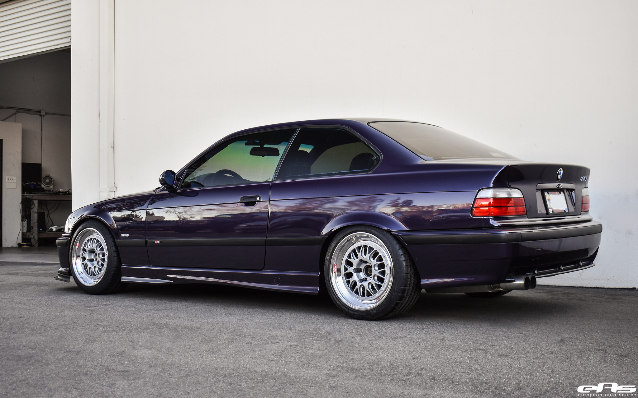 techno violet metallic bmw e36 m3 build by european auto. Black Bedroom Furniture Sets. Home Design Ideas