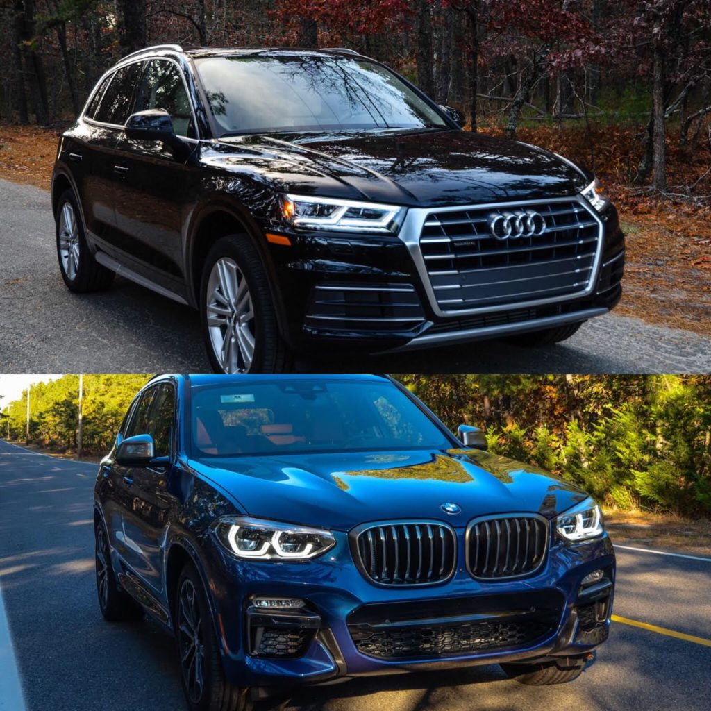 Audi European Delivery >> Photo Comparison: 2018 BMW X3 vs 2017 Audi Q5