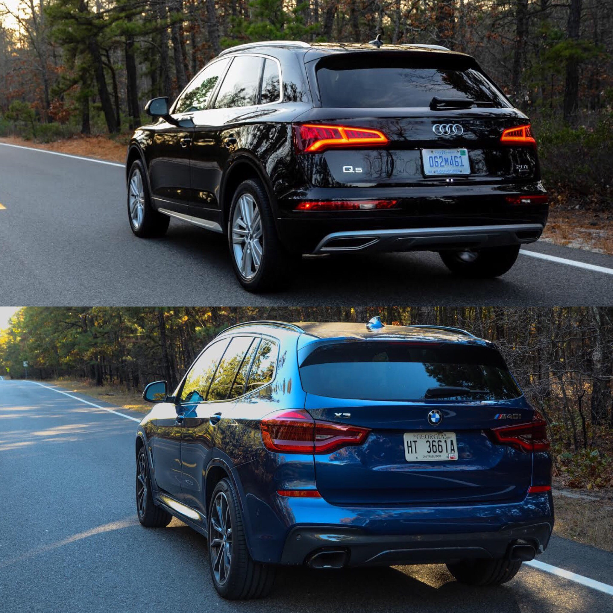 Photo Comparison: 2018 BMW X3 Vs 2017 Audi Q5