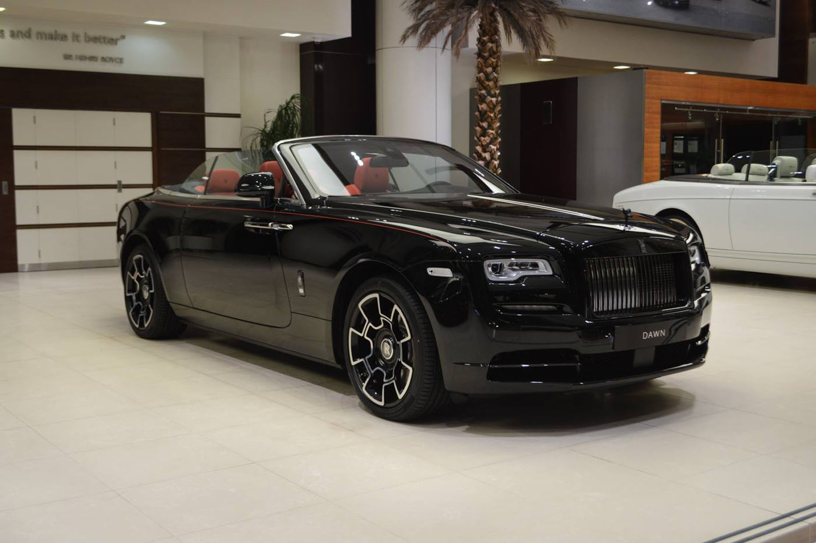 This Rolls Royce Dawn Black Badge Is The Young Enthusiasts Rolls