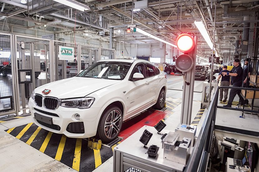 200000th BMW X4 P90292219 highRes 830x553