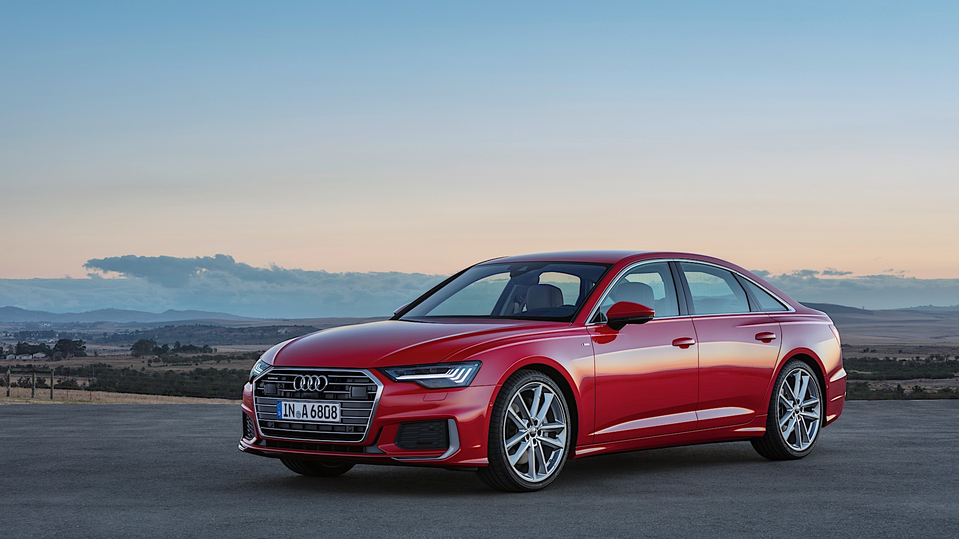 2018 Audi A6 Unveiled with 5 Series and E-Class Fixed in Its Sight