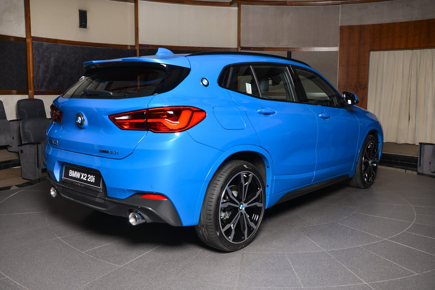 Photo Gallery Misano Blue Bmw X2 Sdrive20i Arrives In Abu