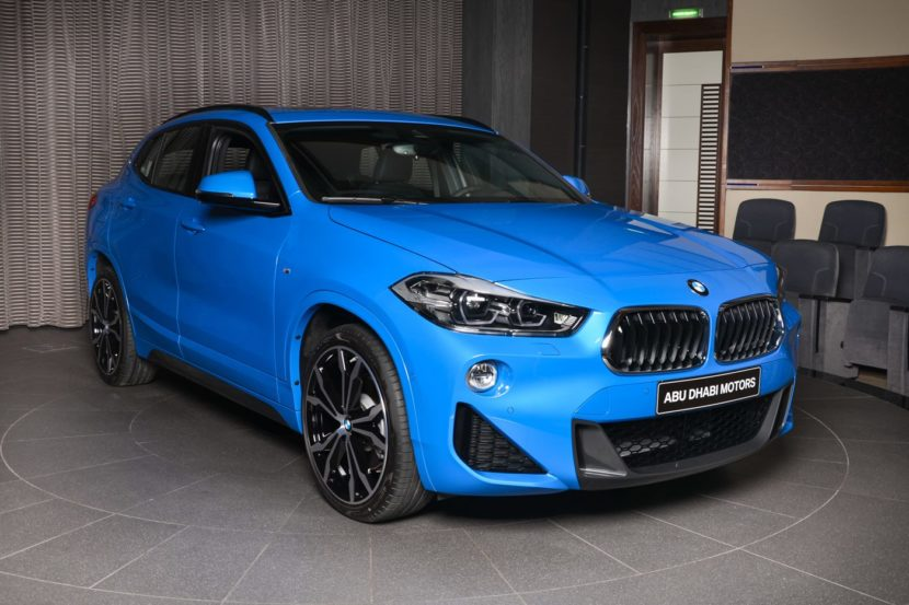 Photo Gallery Misano Blue Bmw X2 Sdrive20i Arrives In Abu Dhabi
