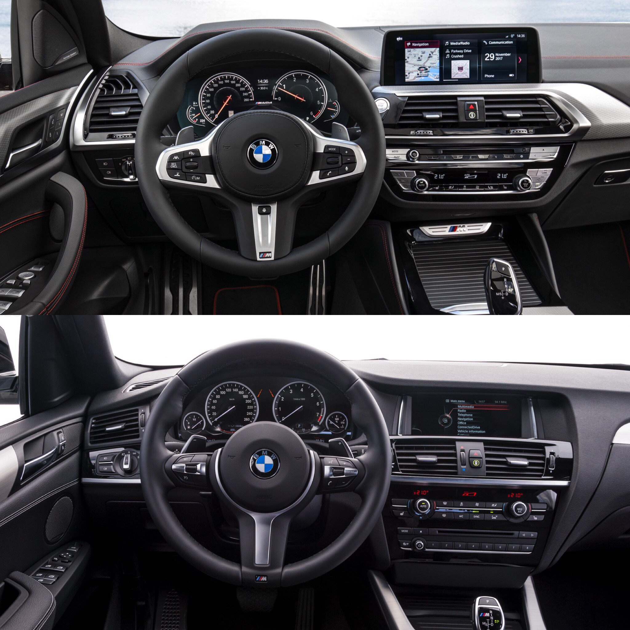 Photo Comparison: F26 BMW X4 Vs G02 BMW X4 -- Old Vs New