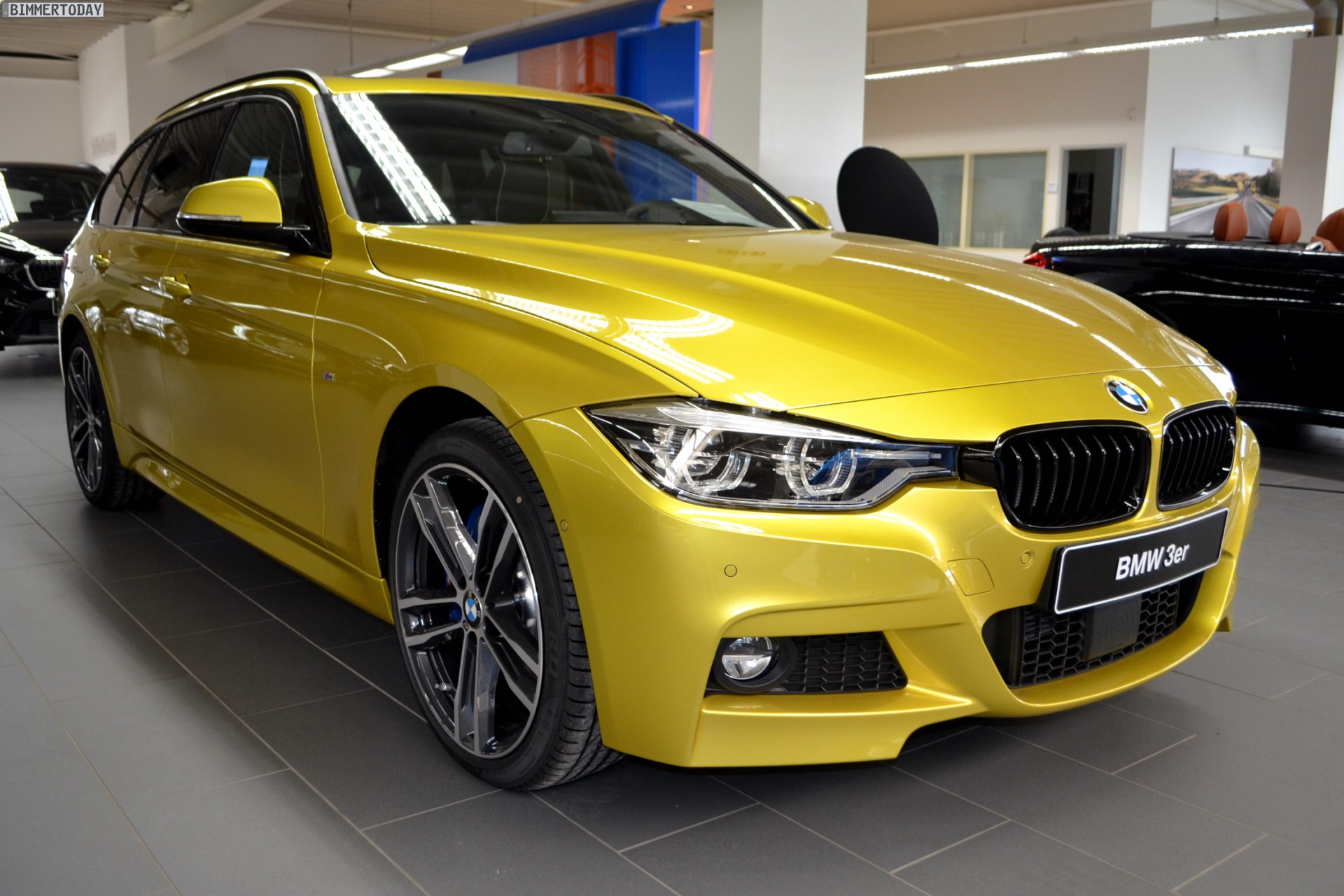 Bmw G20 Touring >> BMW 340i Touring in Austin Yellow from BMW Individual