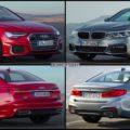 BMW 5er G30 Audi A6 sedan 2018 05 120x120