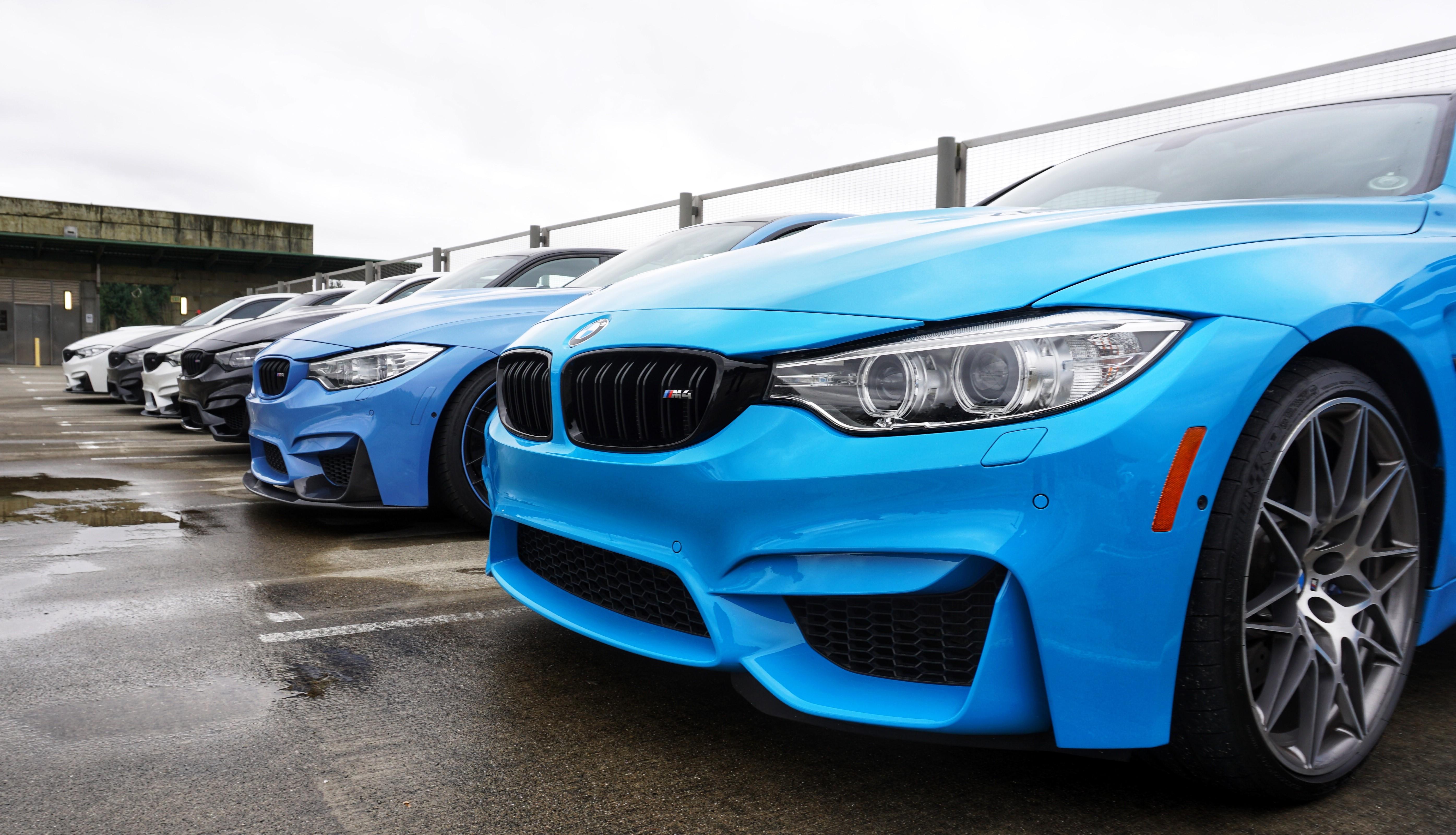 BMW M meet Seattle