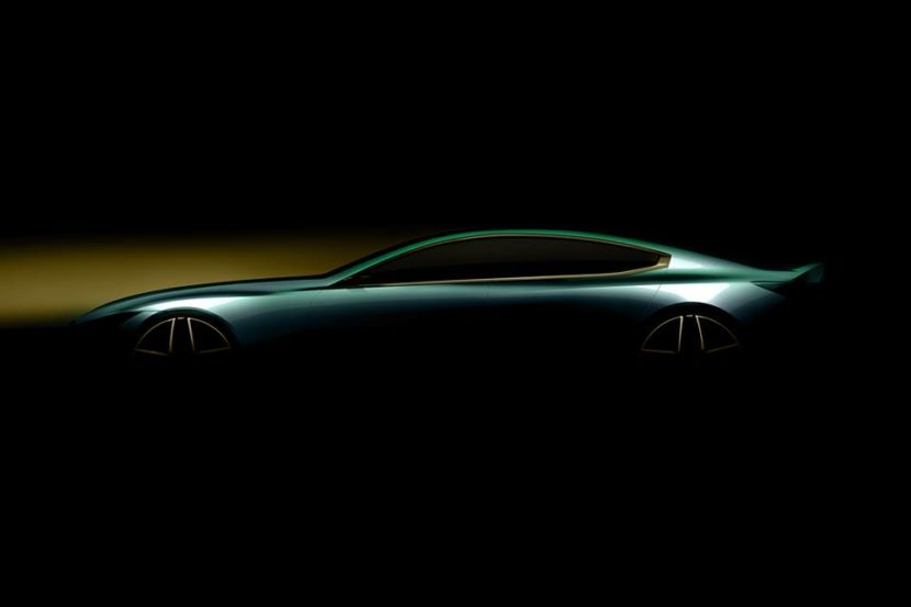 BMW M8 Gran Coupe Concept teaser 830x553