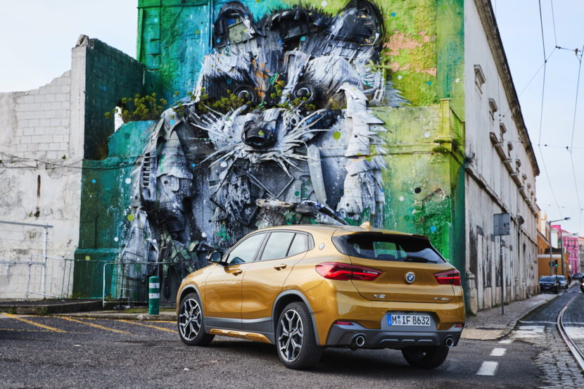 BMW X2 Photo gallery Lisbon 83 830x553
