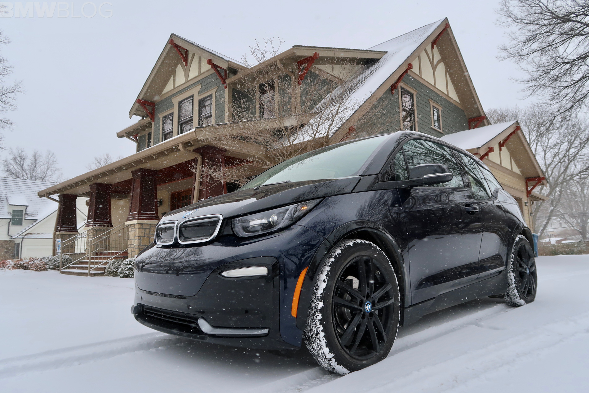 BMW i3s winter test drive 31