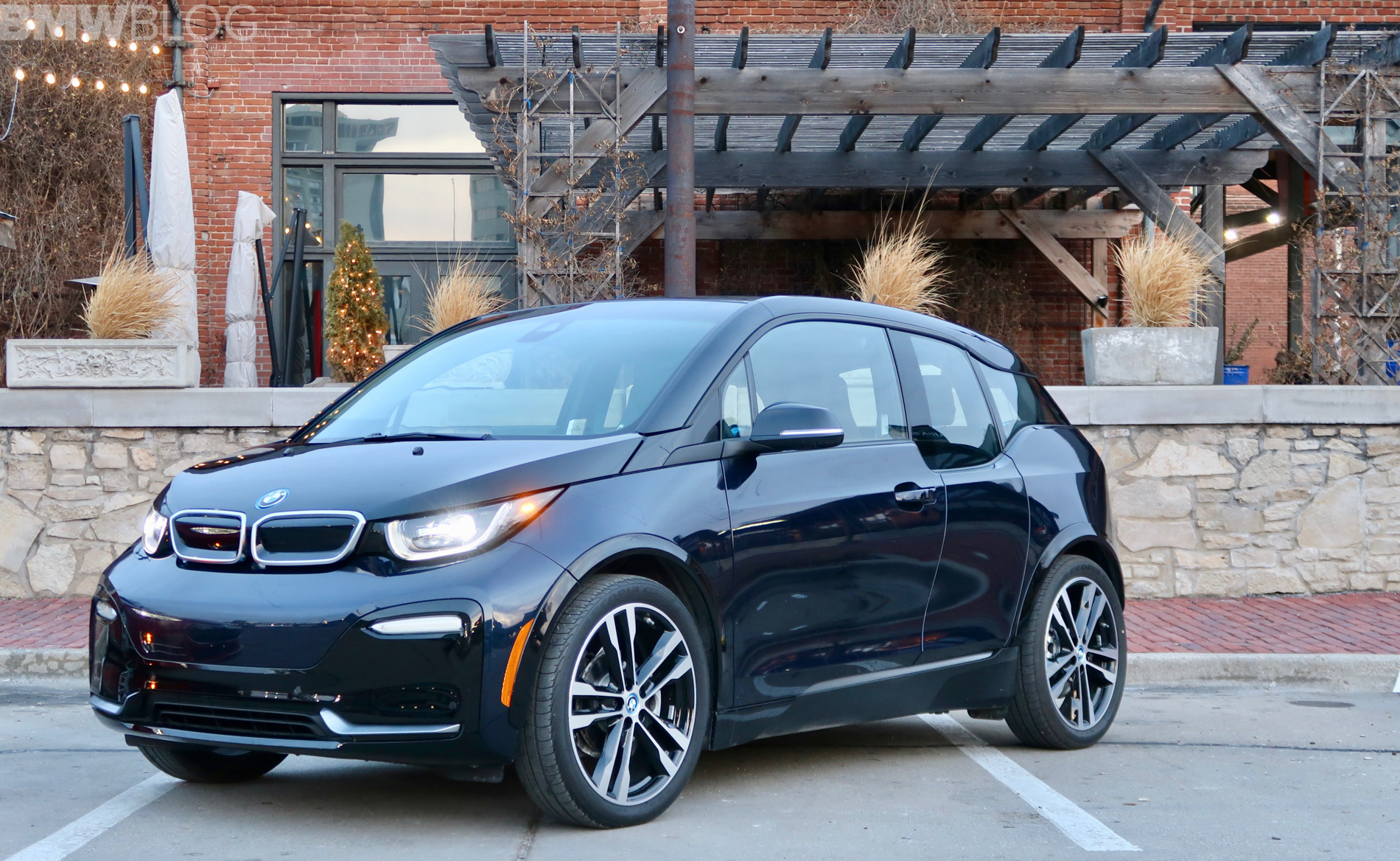 BMW i3s winter test drive 47