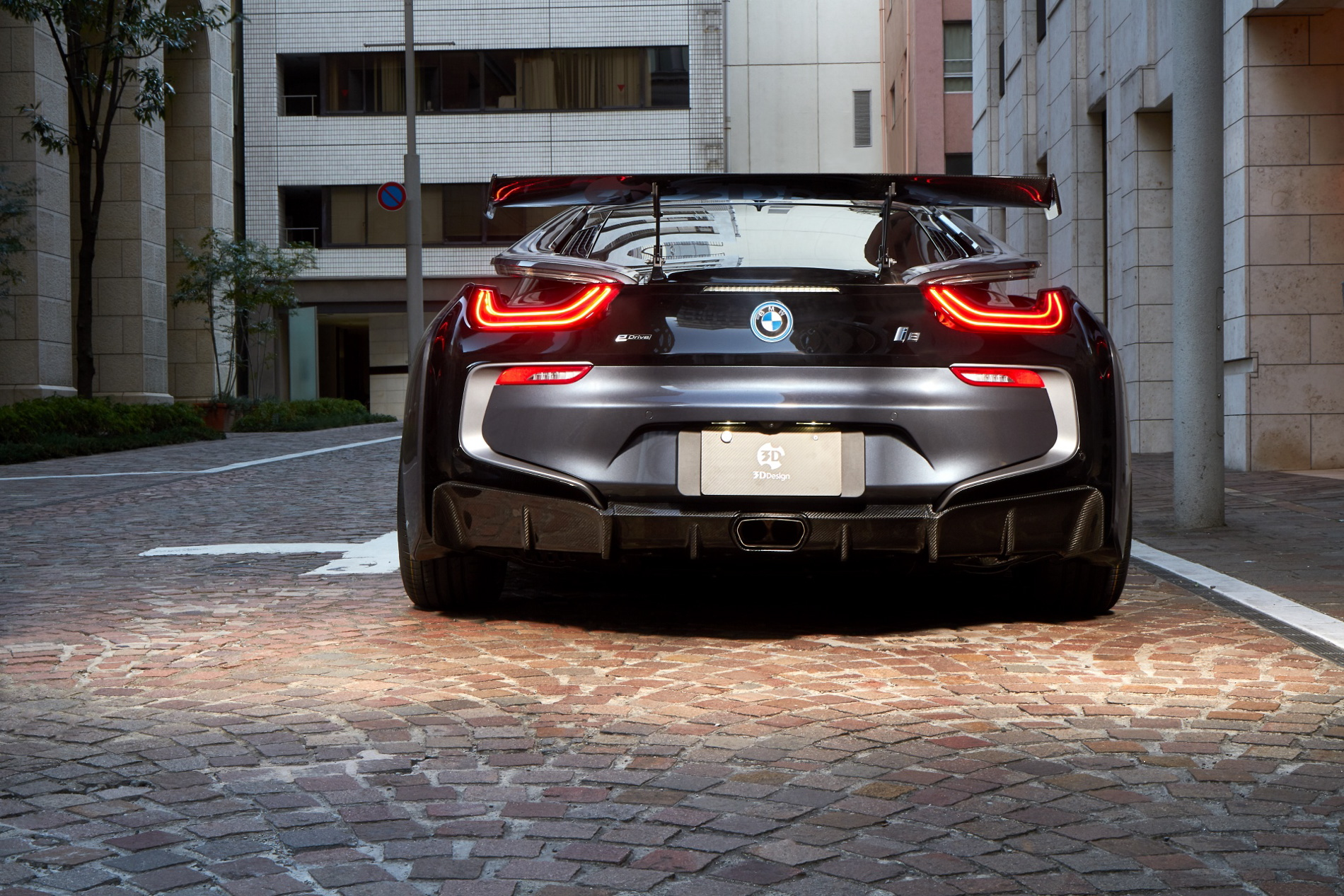 Photo Gallery Bmw I8 Kit By 3d Design Revealed In Full