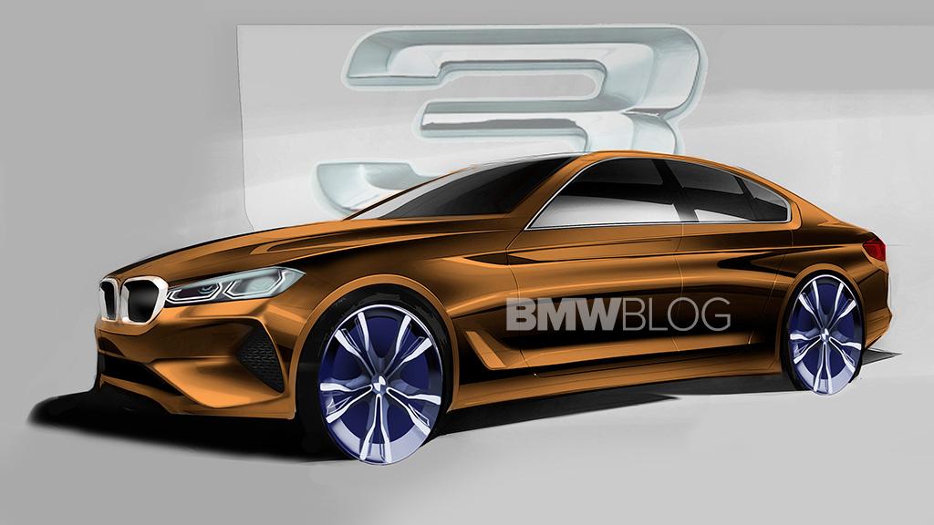 BMW 3 2019 SKETCH