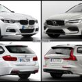 Bild Vergleich BMW 3er F31 Touring Volvo V60 T6 2018 01 120x120