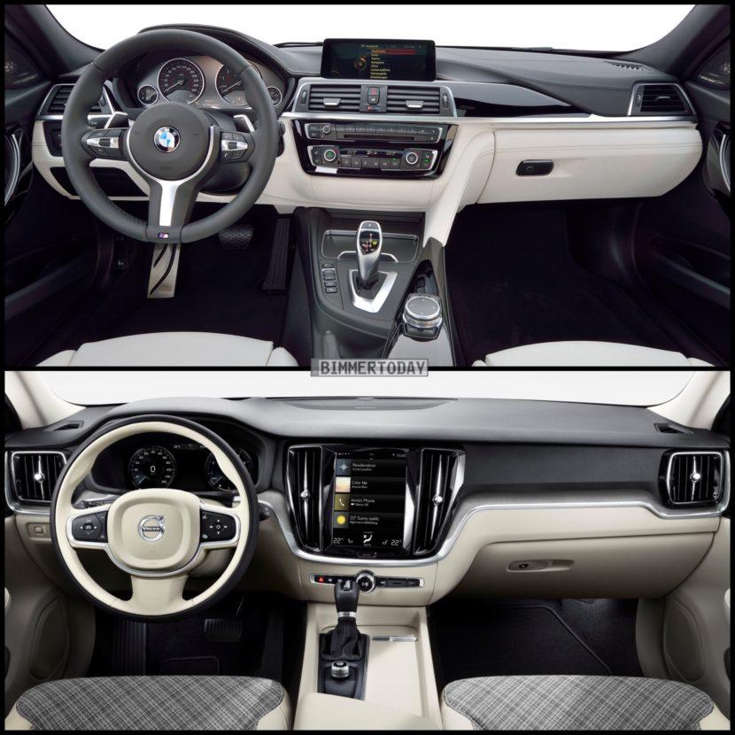 Photo Comparison Bmw 3 Series Touring Vs Volvo V60
