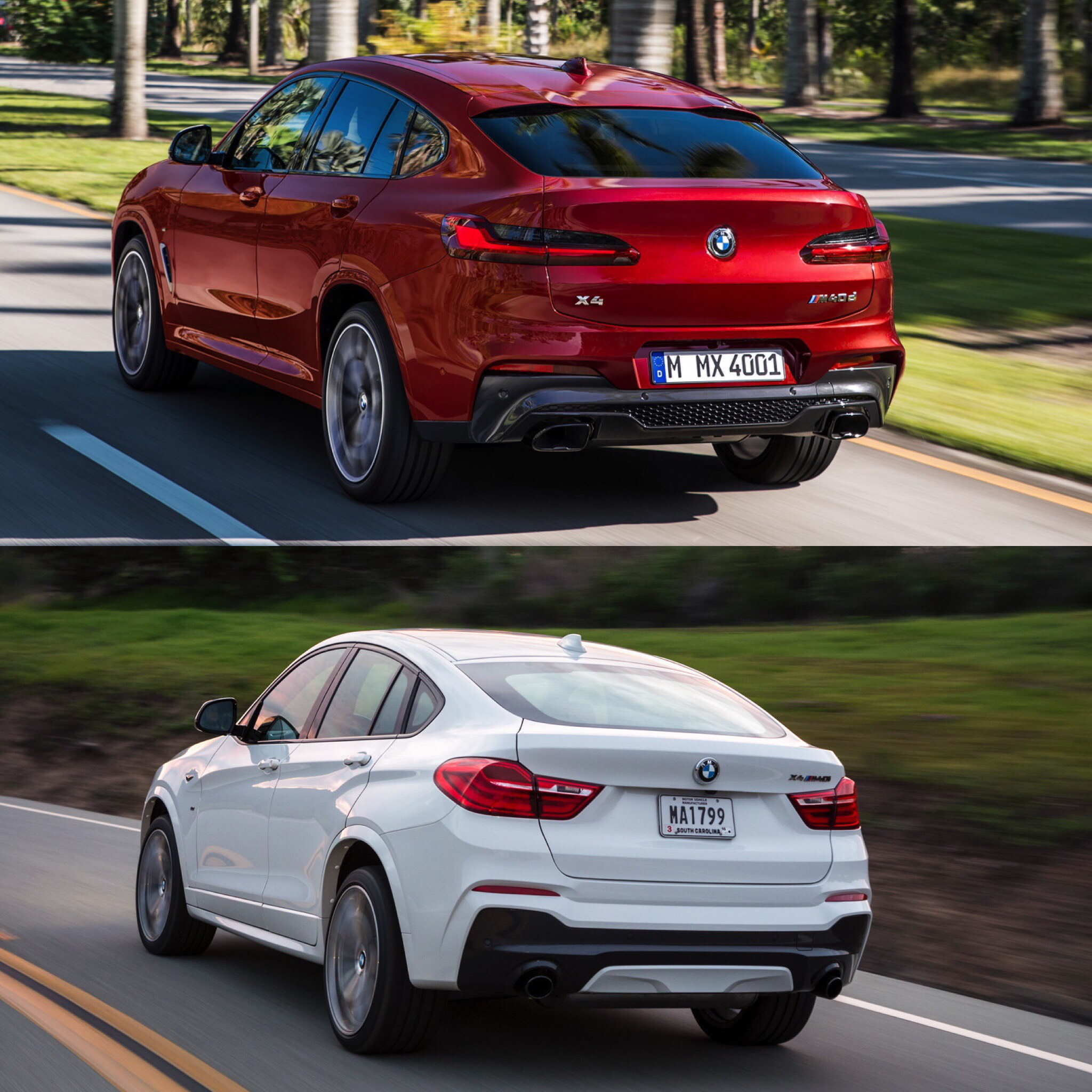 Bmw Xdrive35i Price: Bmw X6 Vs X4.2015 BMW X6 VS BMW X4 Visual Comparison