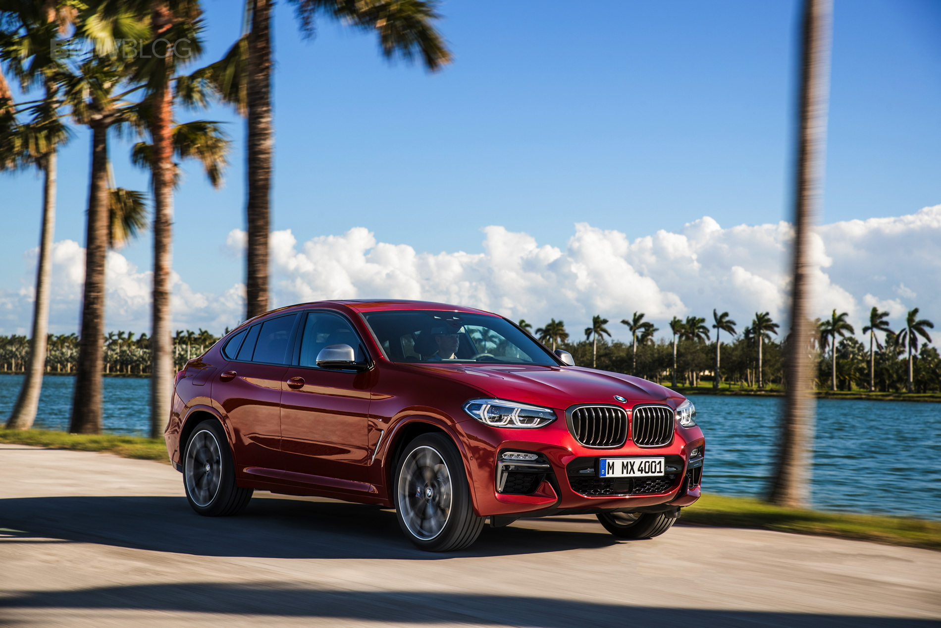 New 2018 BMW X4 M40d exterior design 18