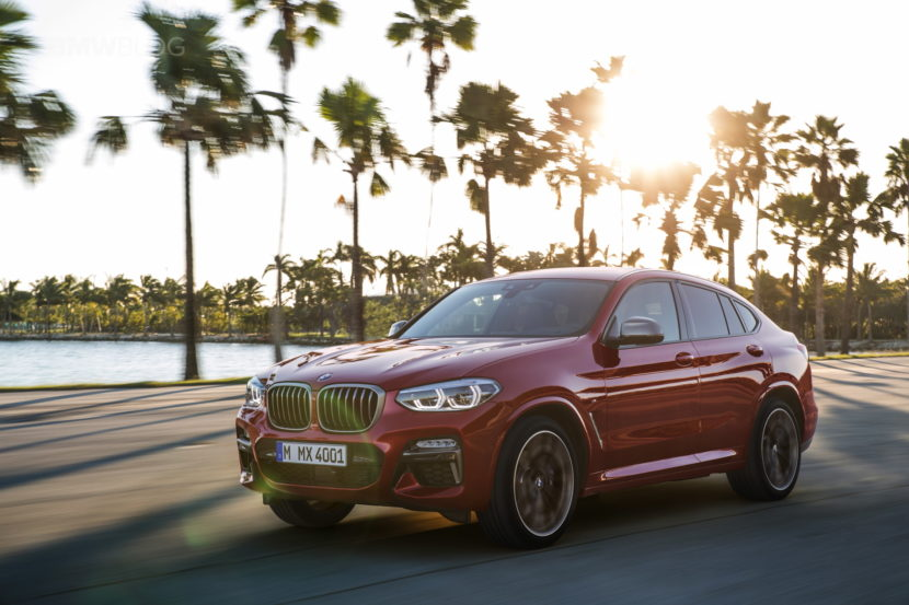 New 2018 BMW X4 M40d exterior design 21 830x553