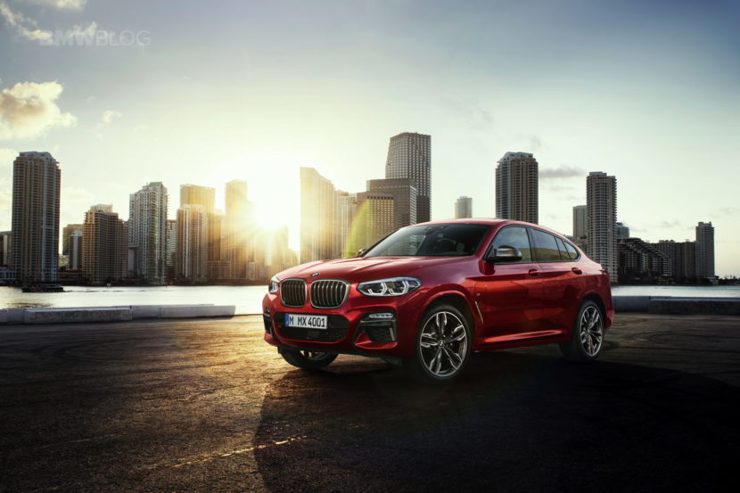 New 2018 BMW X4 M40d exterior design 28 830x553