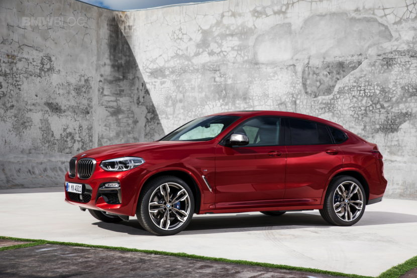 New 2018 BMW X4 M40d exterior design 31 830x553