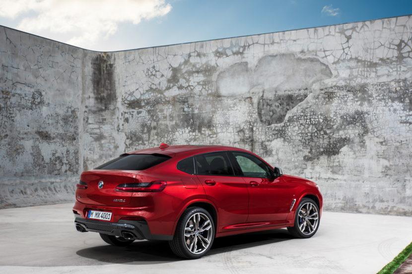 New 2018 BMW X4 M40d exterior design 33 830x553