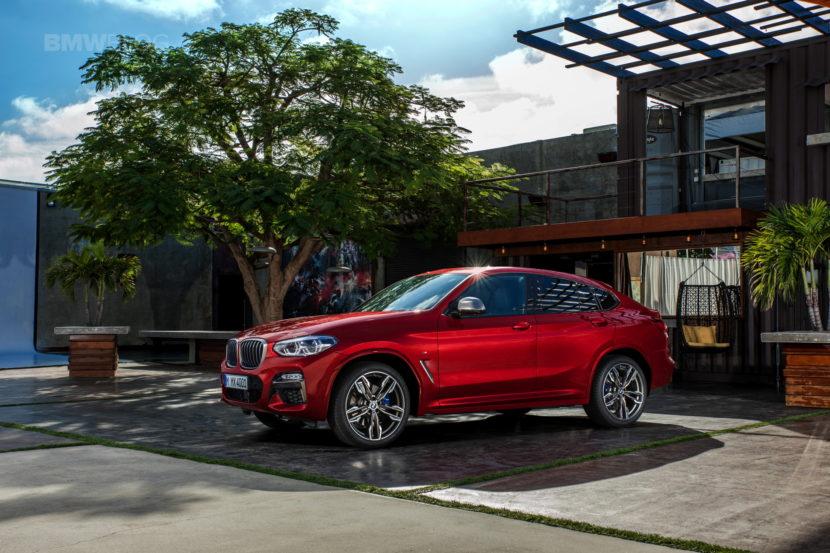 New 2018 BMW X4 M40d exterior design 38 830x553