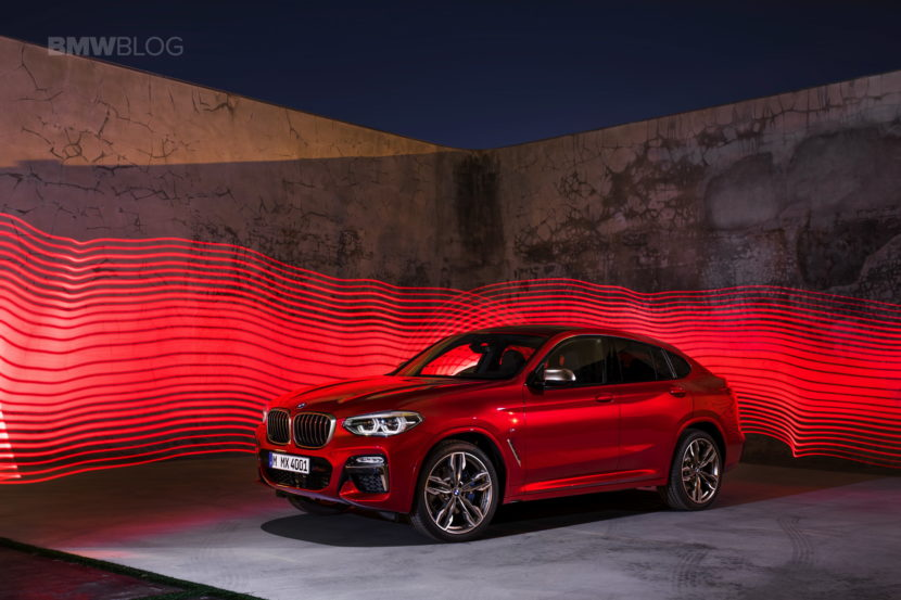 New 2018 BMW X4 M40d exterior design 42 830x553