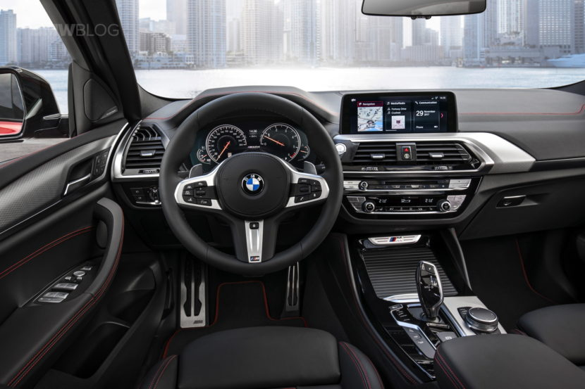 New 2018 BMW X4 M40d interior design 06 830x553