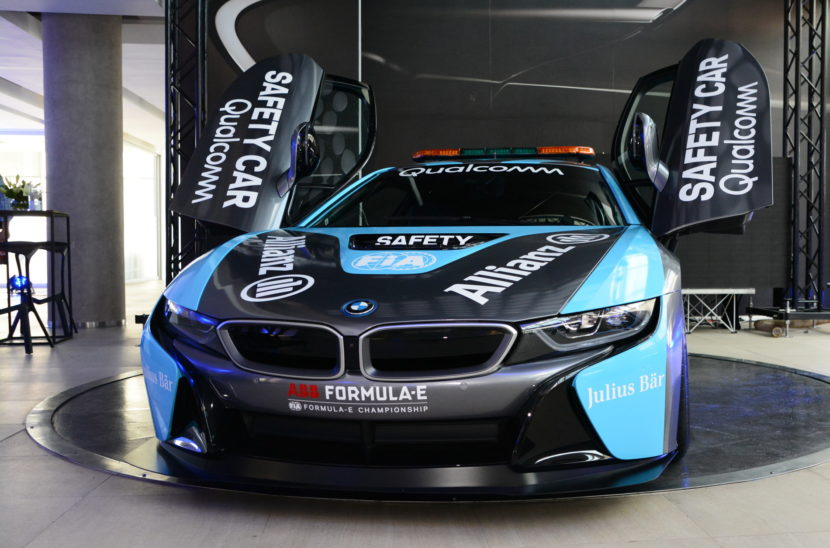 Qualcomm Safety Car BMW i8 Coupe gets a facelift 01 830x548
