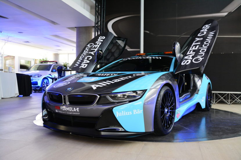 Qualcomm Safety Car BMW i8 Coupe gets a facelift 02 830x553