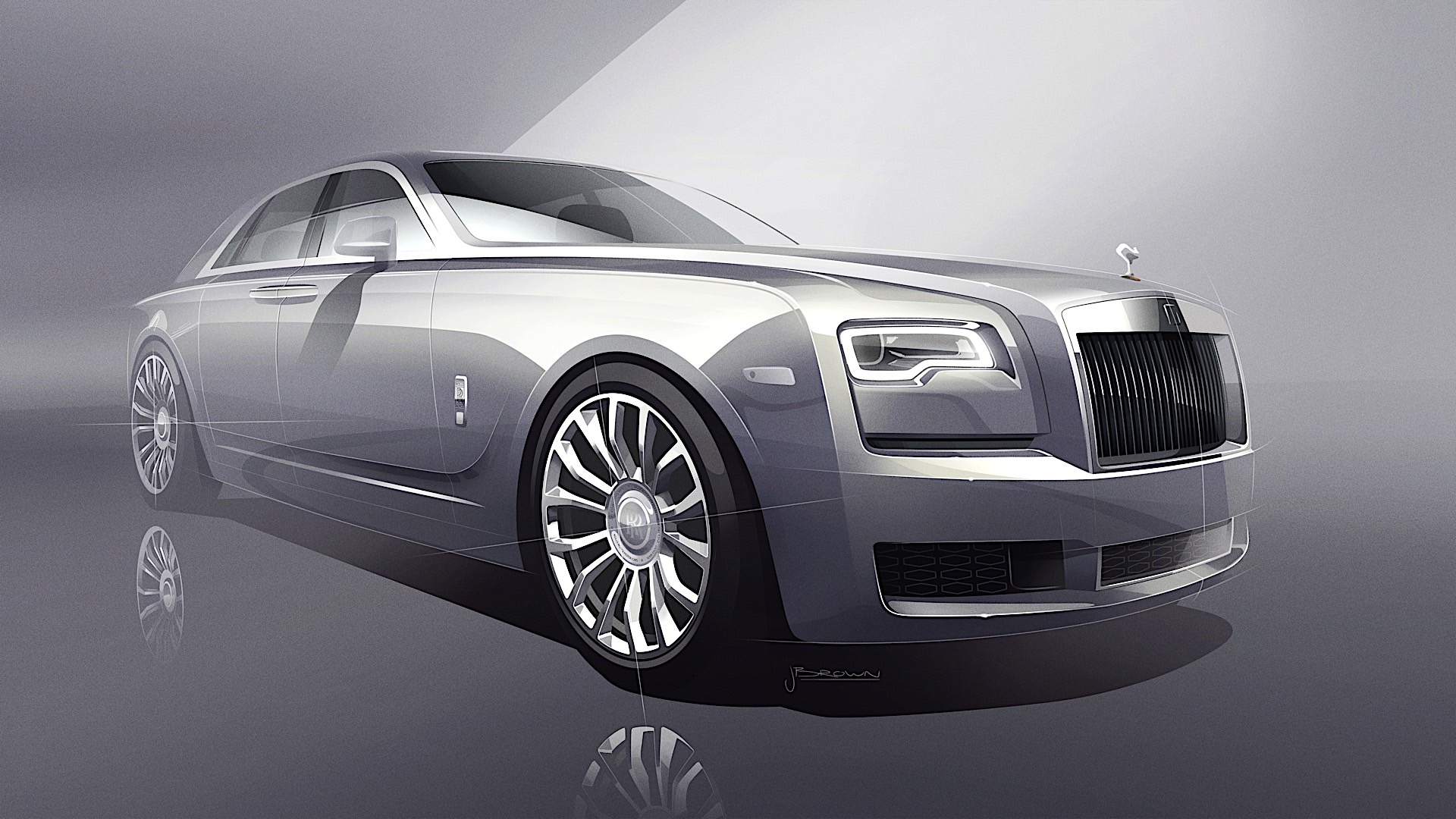 Rolls Royce Ghost Silver Collection P90295195 highRes