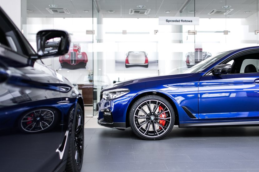 BMW Individual San Marino Blue 540i xDrive with full M ...