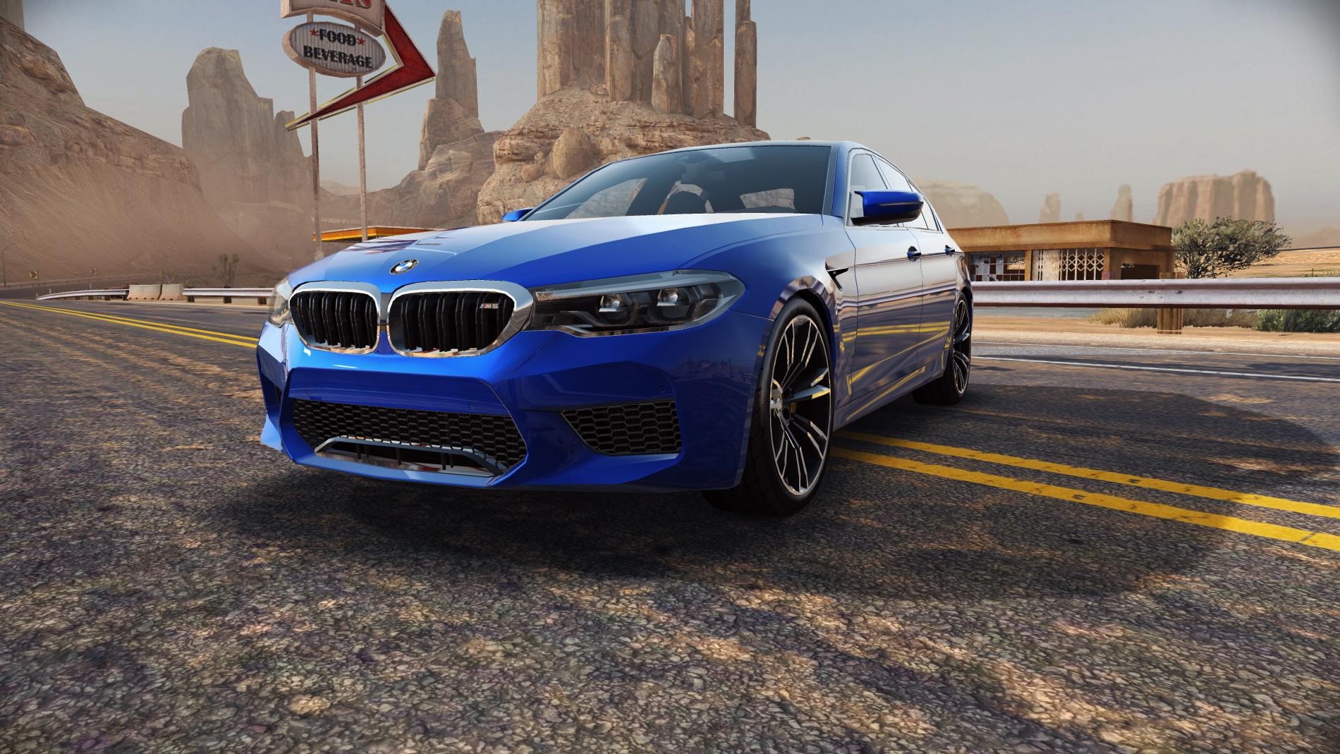 new BMW M5 stars in Need for Speed No Limits 01