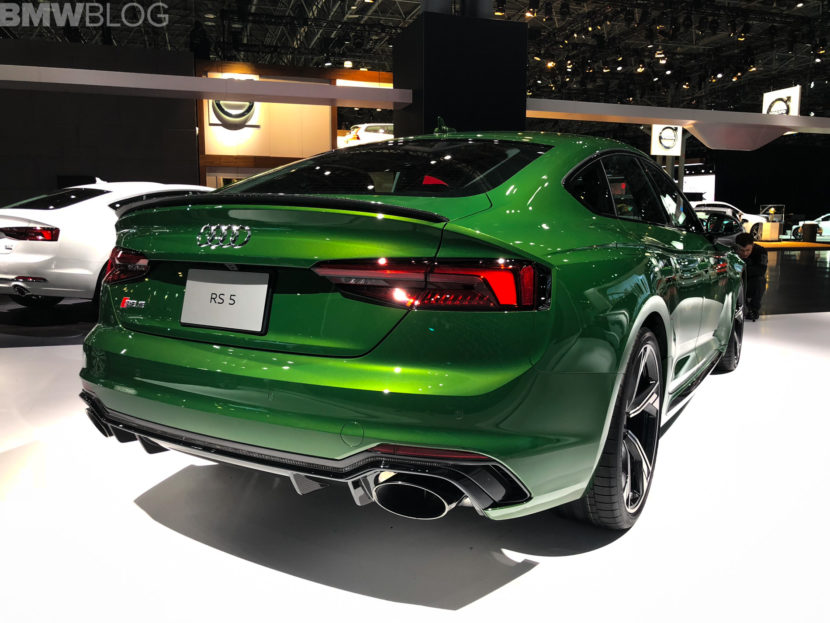 2018 Audi RS5 Sportback New York Auto Show photos 3 830x623