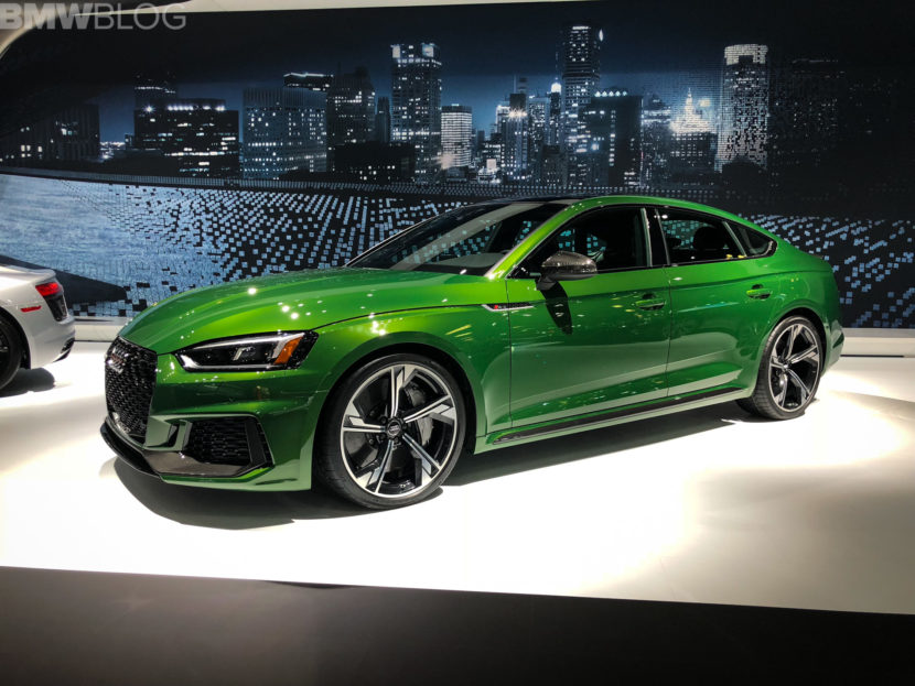 2018 Audi RS5 Sportback New York Auto Show photos 4 830x623