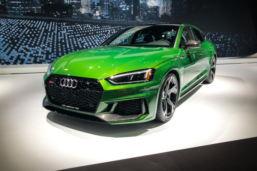2018 Audi RS5 Sportback New York Auto Show photos 6 830x553